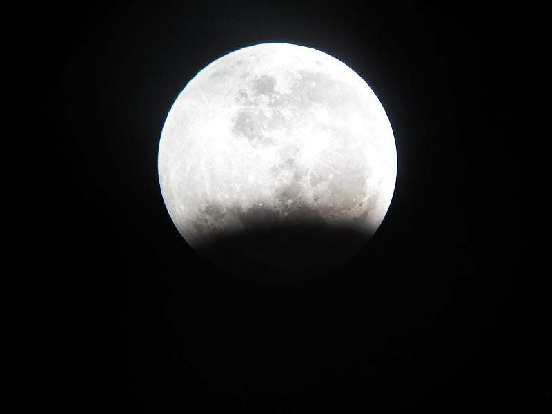 in پديده های نجومی عکاس : آسمون سایه زمین