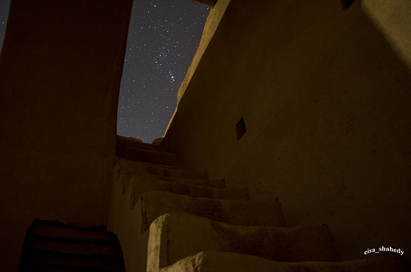 in نجومی ( ميدان ديد باز) عکاس : eisa shahedy پله های قدیمی کاروانسرای سریزد