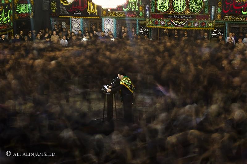 in مستند اجتماعی عکاس : علی آئین جمشید عزاداری بوشهری (long exposure)