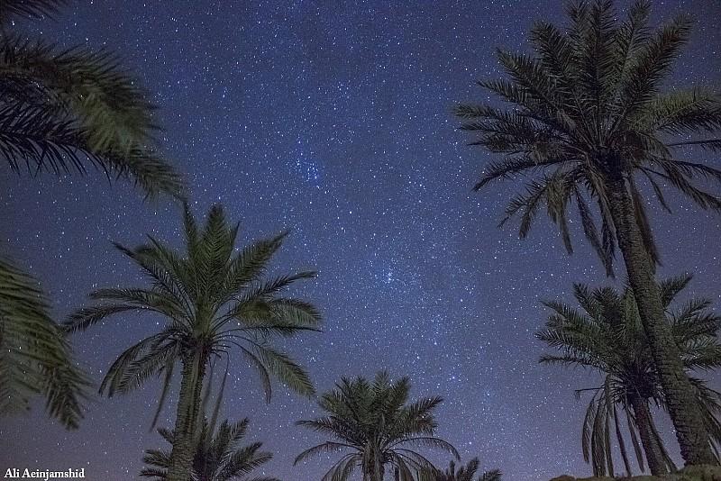 in نجومی ( ميدان ديد باز) عکاس : علی آئین جمشید آسمان شب