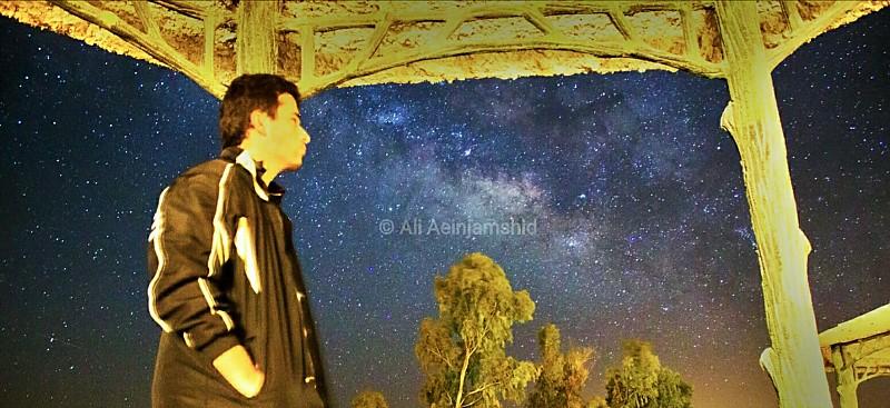 in نجومی ( ميدان ديد باز) عکاس : علی آئین جمشید رصدگر