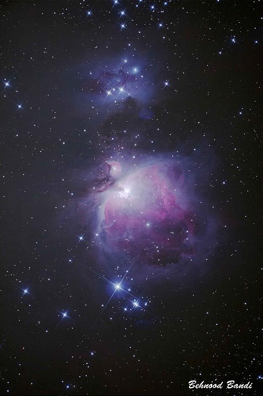 in نجومی (عمق آسمان) عکاس : behnood Orion Nebula
