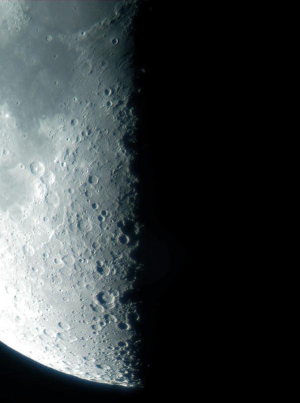 in نجومی (عمق آسمان) عکاس : نعمتی تربیع ماه