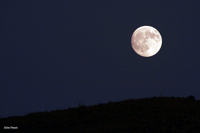 in پديده های نجومی عکاس : نعمتی Moonrise