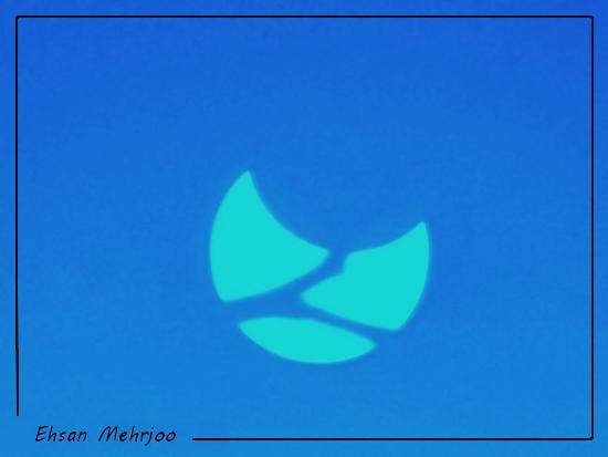 in پديده های نجومی عکاس : mehrjoo خورشید سه پاره -Trifid Sun