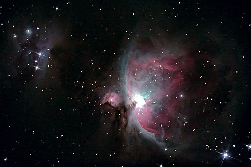 in نجومی (عمق آسمان) عکاس : هانیه امیری Orion Nebula-2