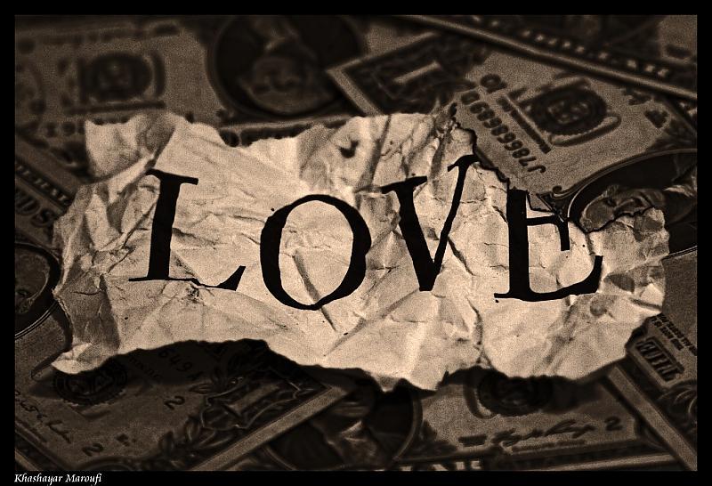 عشق به شرط پول!