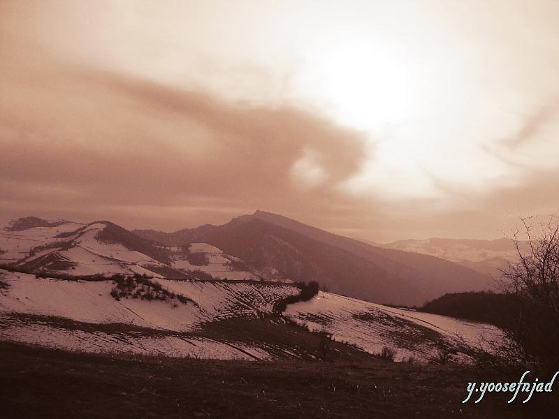 in طبیعت عکاس : yperseusy رنگ آمیزی برف ها