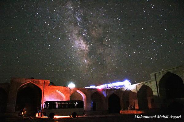 in نجومی ( ميدان ديد باز) عکاس : محمد مهدی عسگری آسمان قصربهرام