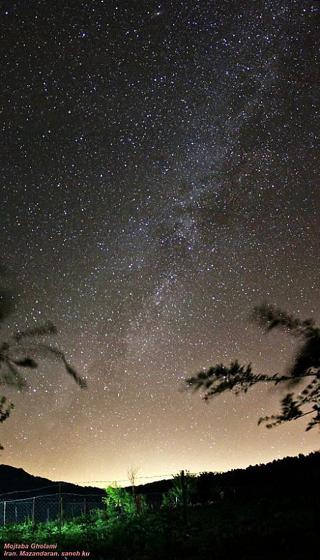 in نجومی ( ميدان ديد باز) عکاس : Mojtaba Gholami اندرومدا در مزرعه