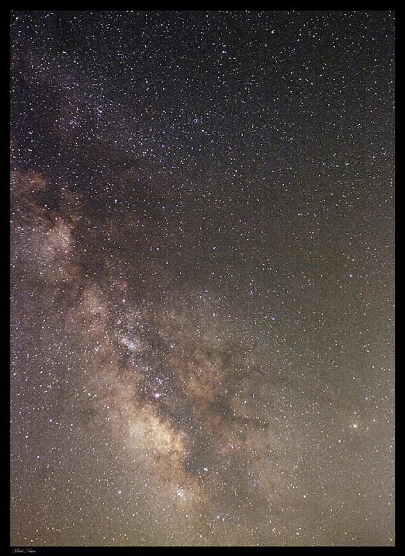 in نجومی (عمق آسمان) عکاس : مهدی ناصری قلب کهکشان