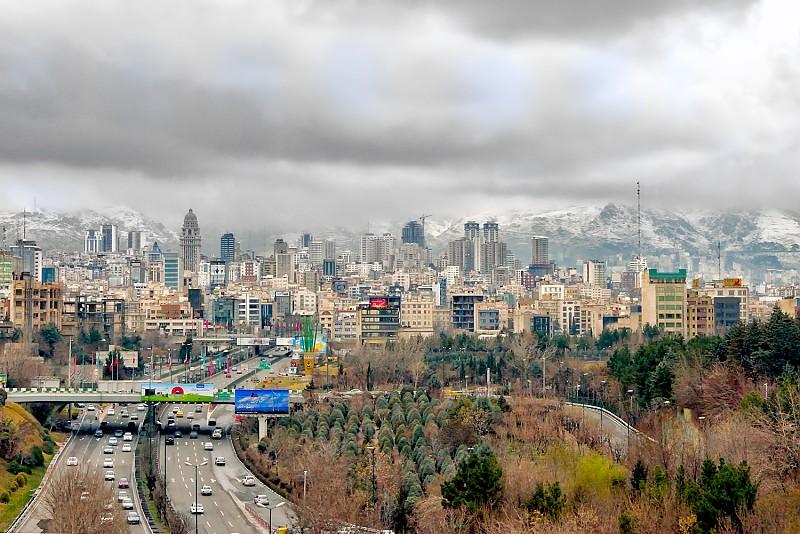 in مناظر عکاس : farshad تهران پس از باران