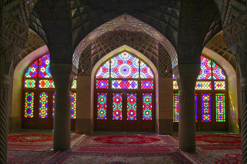 in معماری عکاس : صادق مقامی مسجد نصیرالملک 2