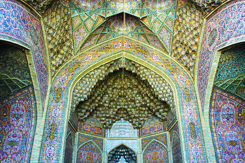 in معماری عکاس : صادق مقامی مسجد نصیرالملک