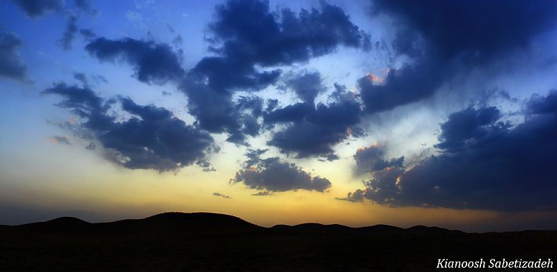 in مناظر عکاس : Kianoosh.S Rustic Sunset