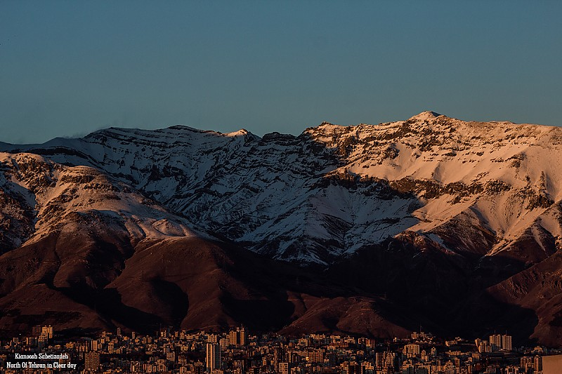 in مستند اجتماعی عکاس : Kianoosh.S Tehran In Clear Day