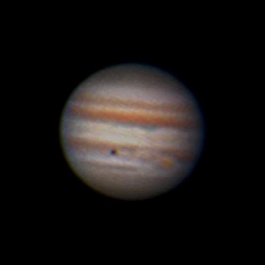 in نجومی (عمق آسمان) عکاس : mohsen4465 سایه آیو، برفراز ابرهای مشتری