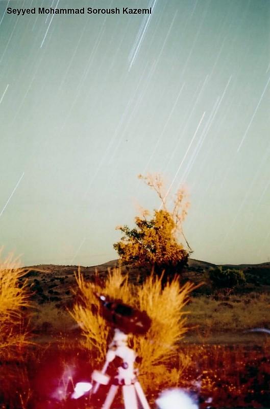 in نجومی ( ميدان ديد باز) عکاس : محمد سروش رد ستاره
