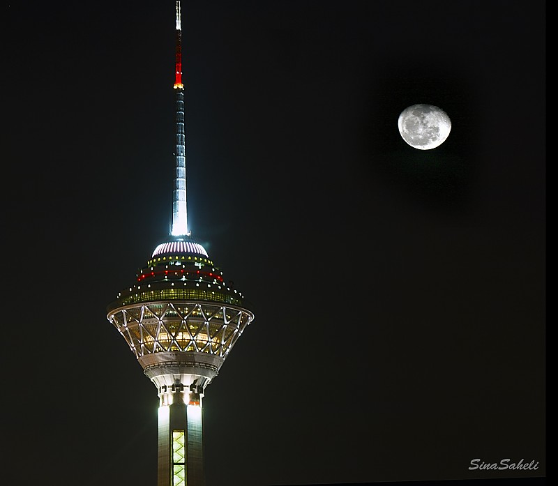in مناظر عکاس : sinaxex ماه و میلاد