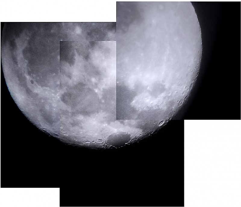 موزائیکی از ماه