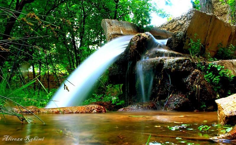 in مناظر عکاس : A.rahimi رود مثل آبشار