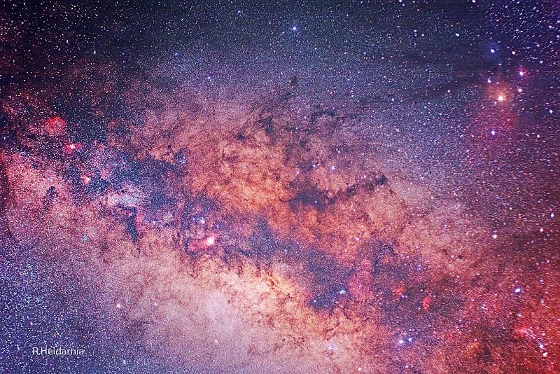 in نجومی (عمق آسمان) عکاس : rock_iml MilkyWay