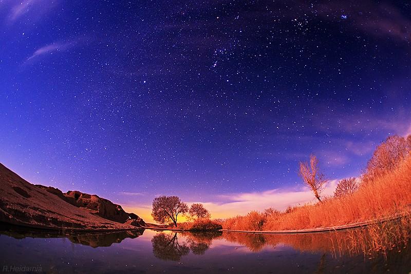 in نجومی ( ميدان ديد باز) عکاس : rock_iml Night Shines