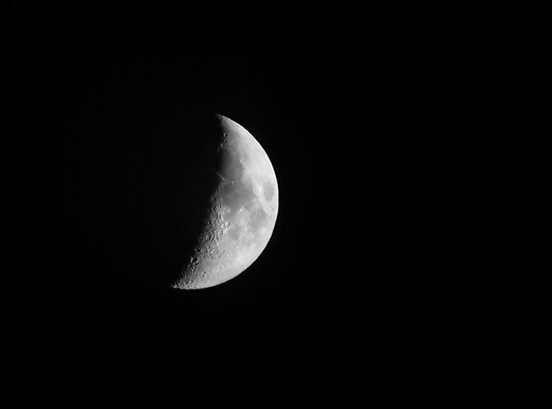 ماه شب ششم