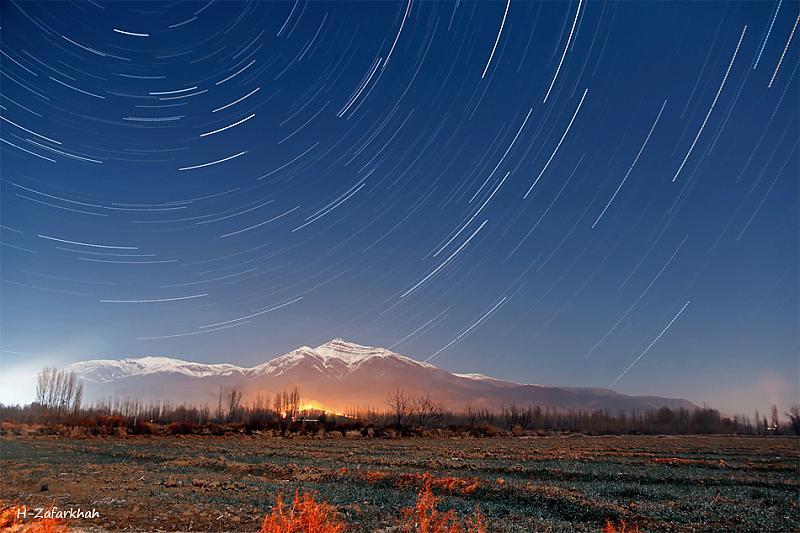 in نجومی ( ميدان ديد باز) عکاس : Hojjat Zafarkhah گذر زمان در چله خانه