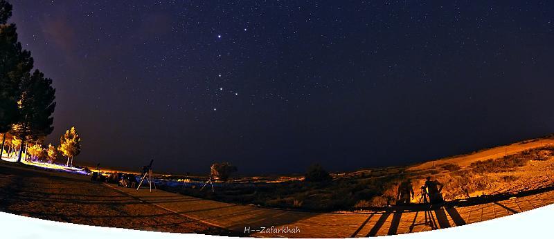 in نجومی ( ميدان ديد باز) عکاس : Hojjat Zafarkhah سایه ما و کلب اکبر در صوفی آباد