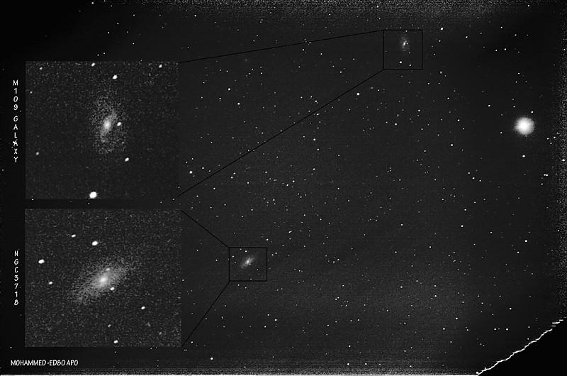 in نجومی (عمق آسمان) عکاس : Sky-Watcher M109 GALAXY & NGC3718