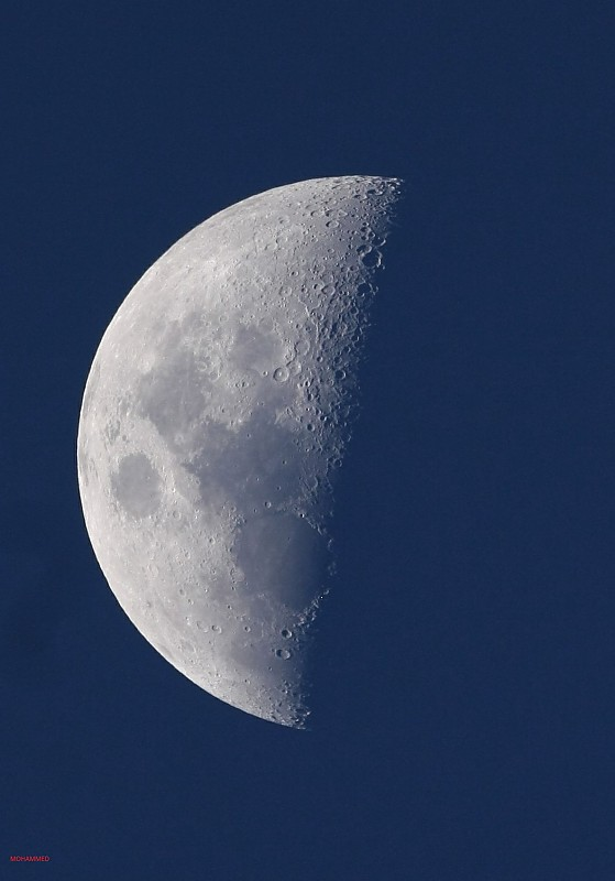 in نجومی (عمق آسمان) عکاس : Sky-Watcher The Half Moon