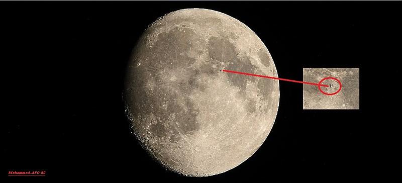 in نجومی (عمق آسمان) عکاس : Sky-Watcher پدیده جالب ماه