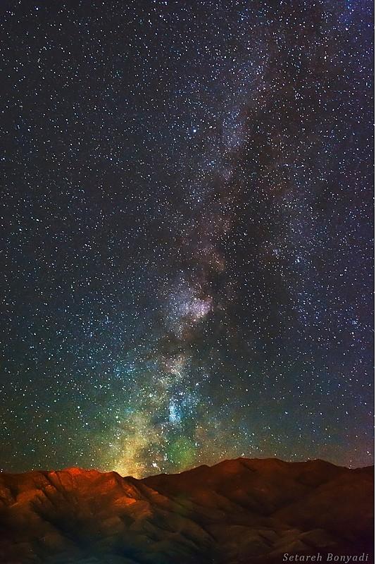 in نجومی ( ميدان ديد باز) عکاس : ستاره بنیادی راه شیری