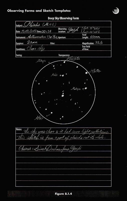 in طرح های نجومی اعضا ( اسكچ) عکاس : stargazer خوشه پروین