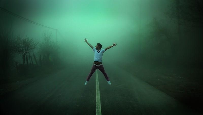 in انسان عکاس : امین تره کار بیگ بنگ در مه
