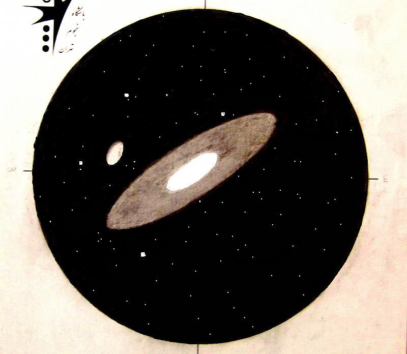 in طرح های نجومی اعضا ( اسكچ) عکاس : pulsar m31وm110