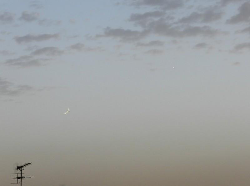 in نجومی ( ميدان ديد باز) عکاس : Mat ماه و زهره