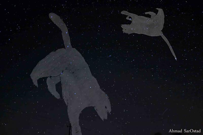 in نجومی ( ميدان ديد باز) عکاس : Ahmad خرس های آسمانی