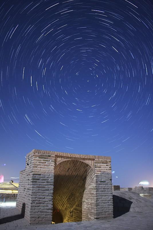 in نجومی ( ميدان ديد باز) عکاس : رضا طامهری راه چینه و آسمان