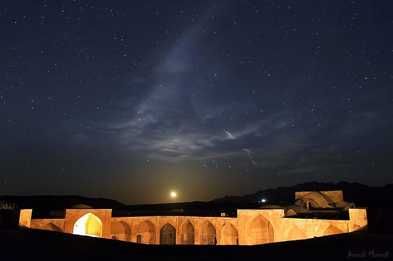 in نجومی ( ميدان ديد باز) عکاس : Amirali Moonrise